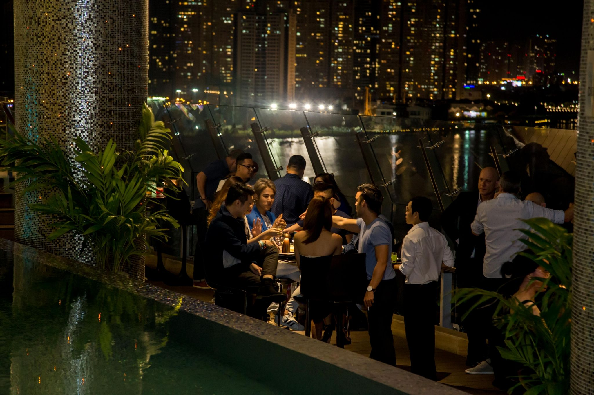 LM After-work series, Tapas by the pool Le Meridien Saigon, wine and cheese, craft beer bash
